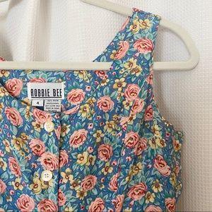 VTG Robbie Bee Pastel Floral Dress